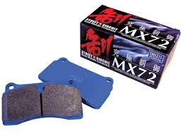 MX72 Ceramic Carbon Brake Pads Front Acura CL 3.2L 00-03